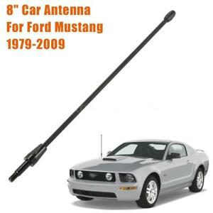 8-034-Short-Black-Antenna-Mast-FITS-For-FORD-MUSTANG-1979-2009
