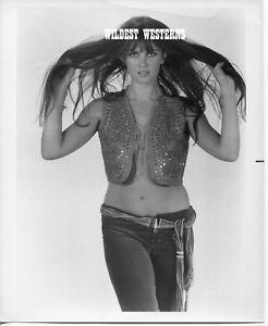 Details About Vintage Original Caroline Munro Sexy James Bond Girl Photo Hot Bare Belly Button