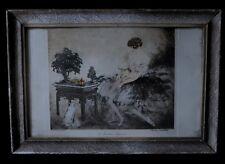 [ART DECO - Eau-forte originale] ICART (Louis) - Le Jardin japonais.