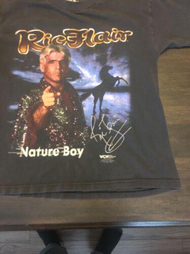 Rare WCW Ric Flair Yourh Large Shirt