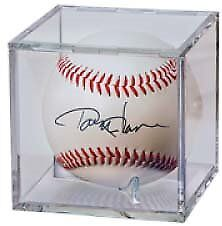 Baseball Display Holder with a Slide-In Bevel Closure and Closure 4 Pack