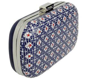 ESPRIT-Kosmetik-Handtasche-Damen-Tasche-Kette-rausnehmbar-Lippenstift-Box-Sicher