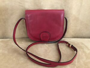 L-039-Artigiano-Firenze-NWOT-Hand-Made-in-Florence-red-Leather-Crossbody-Bag