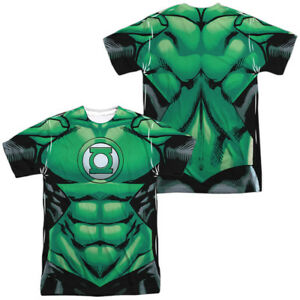 Authentic-DC-Comics-Green-Lantern-Uniform-Costume-Allover-Front-Back-T-shirt-top