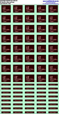 Bello 20 Carri Merci-numeri Per Db Laaes (bianco Su Marrone), Kreye Siebdr., 087-3140-mern Für Db Laaes (weiss Auf Braun), Kreye Siebdr., 087-3140 It-it Profitto Piccolo