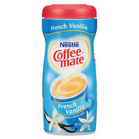 Coffee-mate Non-dairy Powdered Creamer French Vanilla 15 Oz Canister 12/carton on sale