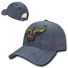 Minnesota State Mankato Mavericks NCAA Cotton Structured Denim Baseball Cap Hat