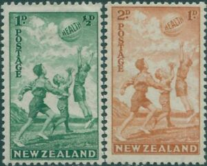 New-Zealand-1940-SG626-627-Health-without-surcharges-set-MNH