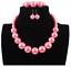 Charm-Fashion-Women-Jewelry-Pendant-Choker-Chunky-Statement-Chain-Bib-Necklace thumbnail 179