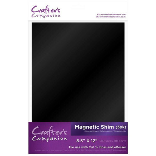 """for Cut /'n Boss /& eBosser 8.5 x 12/"""" Crafters Companion MAGNETIC SHIM 3 Pack"""