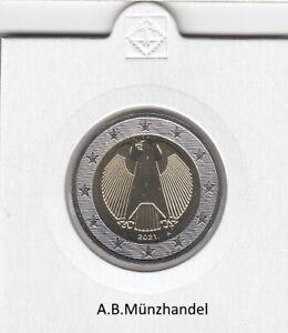 Deutschland Kursmünzen 2 Euro Adler stempelglanz stgl. (ab 2002) aus KMS