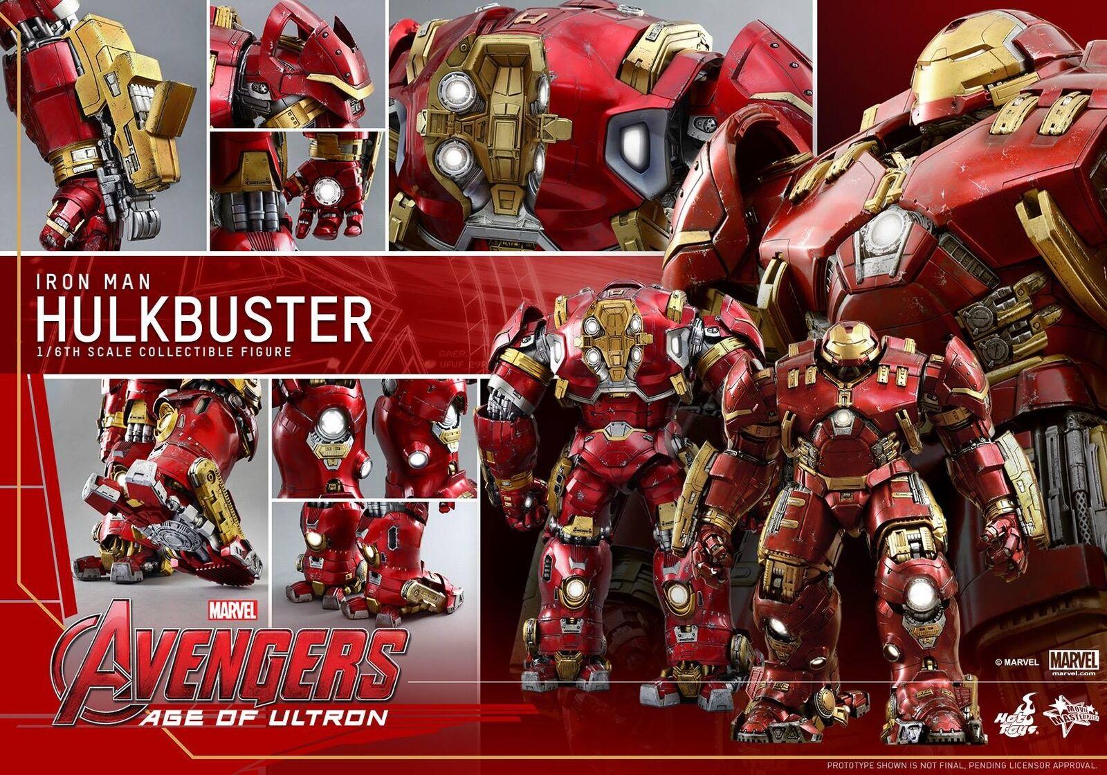 1 6 caliente  giocattoli MMS285 Marvel Avengers Age of Ultron Hulkautoautobuster 21  azione cifra  vendita online