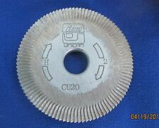 CU20 Cutting Wheel for Ilco 024 machines Good Used Ilco Uncan Blade