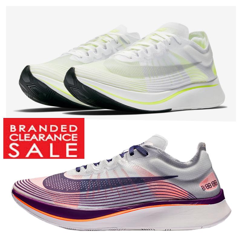 NUOVO Con Scatola Nuovo Uomini NikeLab Nike Zoom Fly SP Bianco Volt Glow Taglia 8 9 UK