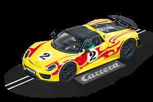 Carrera Evolution 27599 Porsche 918 Spyder No.2 1 32 NEW