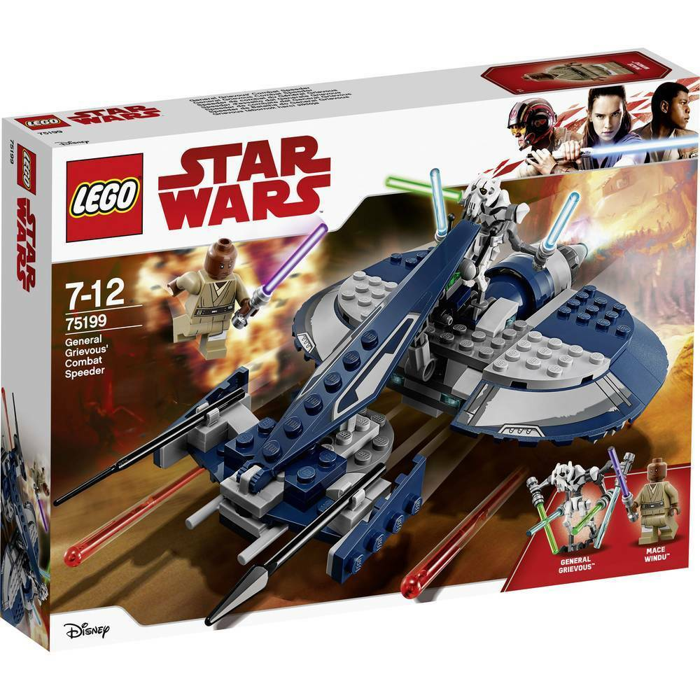 Lego Star Wars 75199  General Grievous' Combat Speeder - Brand New