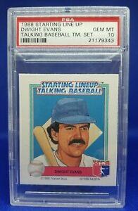 PSA 10 1988 Dwight Evans Starting Lineup Talking Baseball Team Set Pop 3