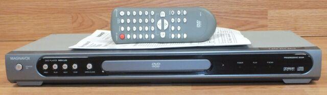 Magnavox (MSD126) Parental Lock DVD / CD Player With Progressive Scan & Remote+