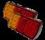 2-x-12-LED-Trailer-Lights-Tail-Stop-Indicator-Lamp-Truck-Trailer-12V thumbnail 5