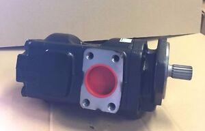 Genuine NEW Parker/JCB Twin hydraulic pump 20/925340 41 + 26cc/rev Made in EU