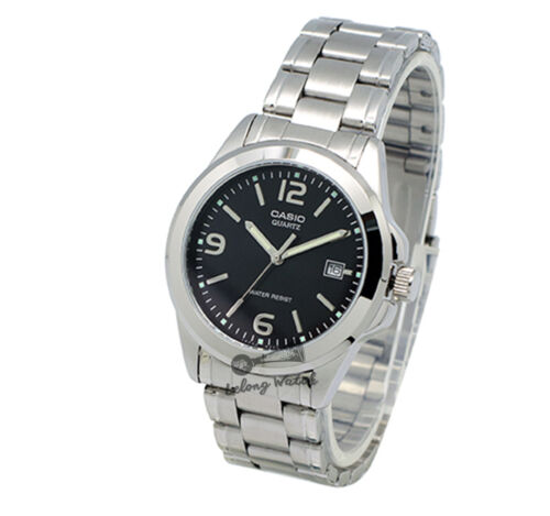 1 of 1 - -Casio MTP1215A-1A Men's Metal Fashion Watch Brand New & 100% Authentic