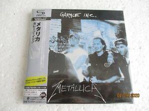 METALLICA-Garage-inc-SHM-MINI-LP-2-CD-SET-JAPAN-OBI-New