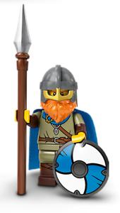 FIGURINE MINIFIGURE LEGO SERIE 20 71027 N° 8 LE VIKING