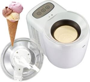 Eismaschine mit aktiver elektrischer Kühlung Softeis Sorbet Eiscreme Icemaker