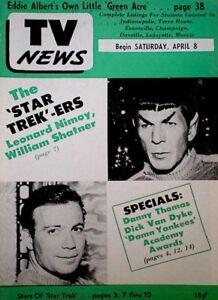 TV-Guide-1967-Star-Trek-Spock-Nimoy-Kirk-Shatner-Regional-EX-NM-COA-Rare