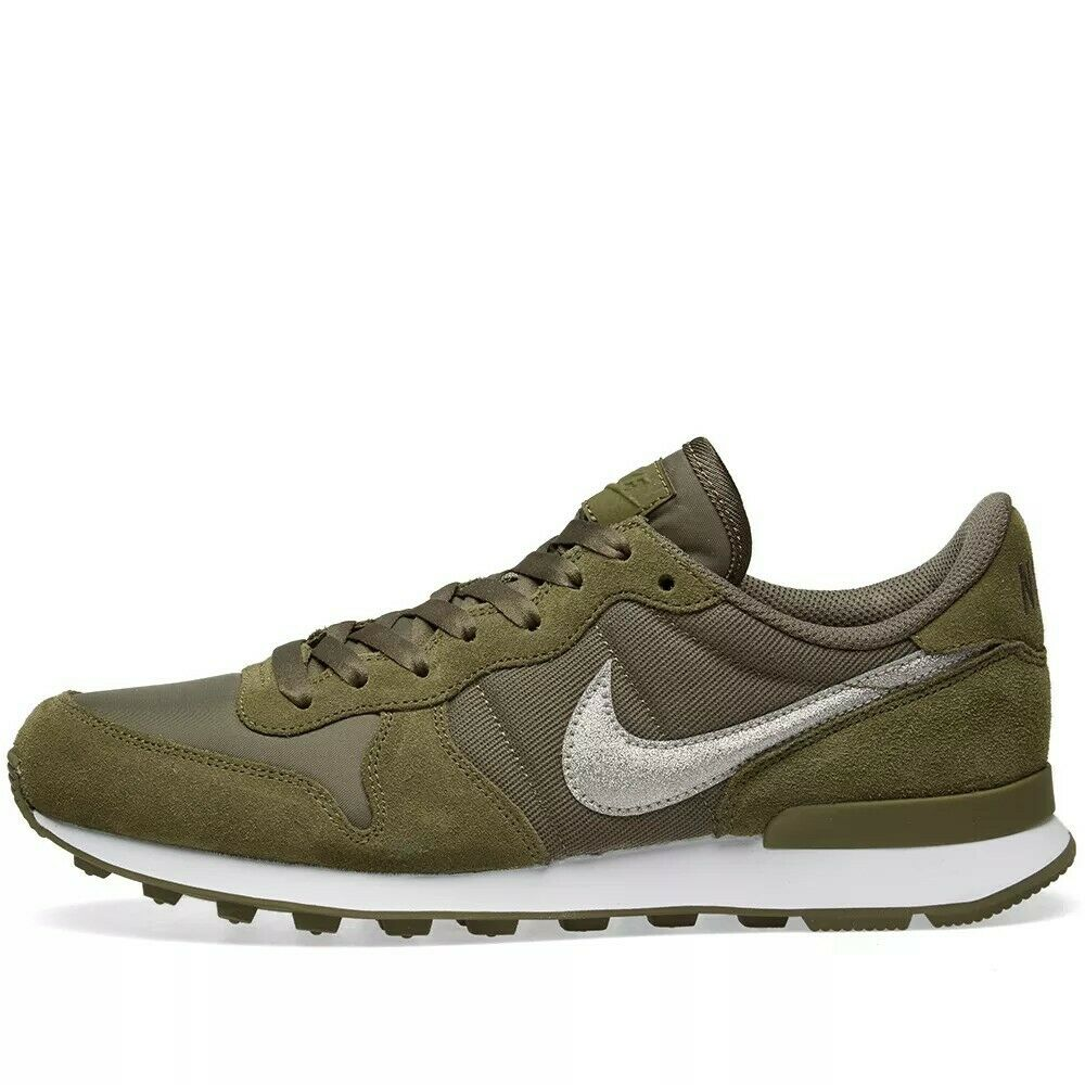 Wmns Nike Internationalist UK 3.5 EUR 36.5 Medium Olive AT0075 200