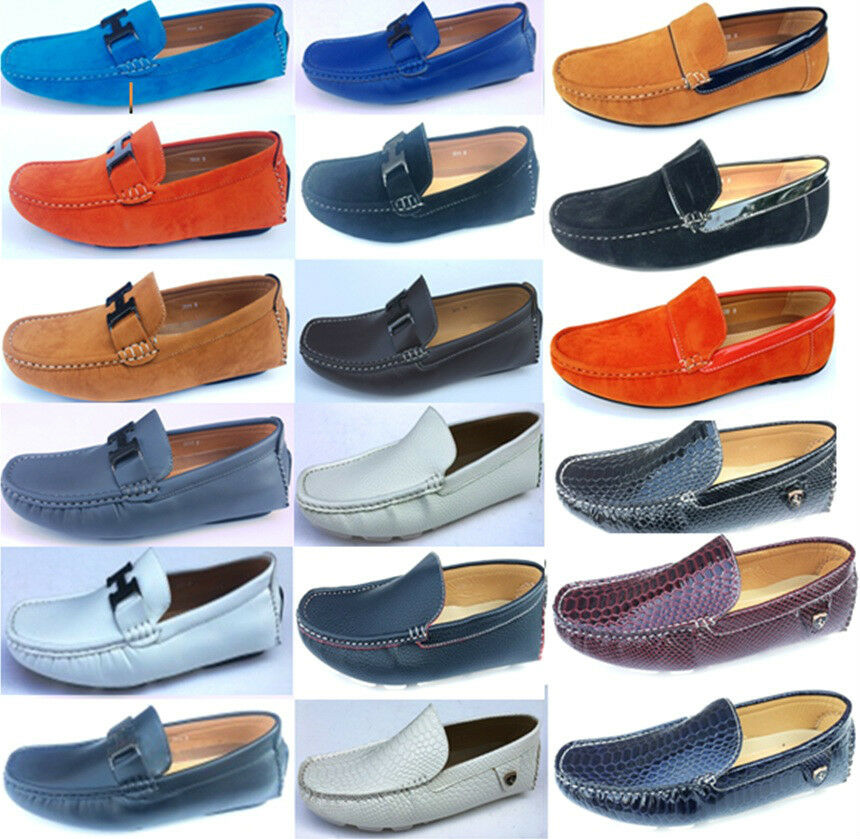 Man's/Woman's MENS LOAFERS DECK MOCCASIN DRIVING CASUAL PARTY ITALIAN SLIP 11 ON SHOES 6 - 11 SLIP sell First grade in its class King of the crowd GR412 0fb846