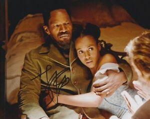 Jamie-Foxx-Signed-Autographe-20x25cm-Django-en-personne-Autograph-Tarantino