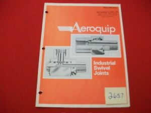 1975-AEROQUIP-INDUSTRIAL-SWIVEL-JOINTS-BULLETIN-5375-HYDRAULIC-PNEUMATIC-amp-MORE
