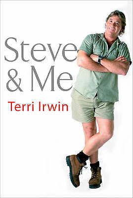 """AS NEW"" Terri Irwin, Steve & Me Book"