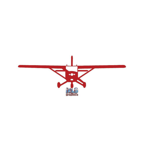 CESSNA 172 PILOT Front Vinyl Sticker Utility Trainer Aircraft Aviator Aviation