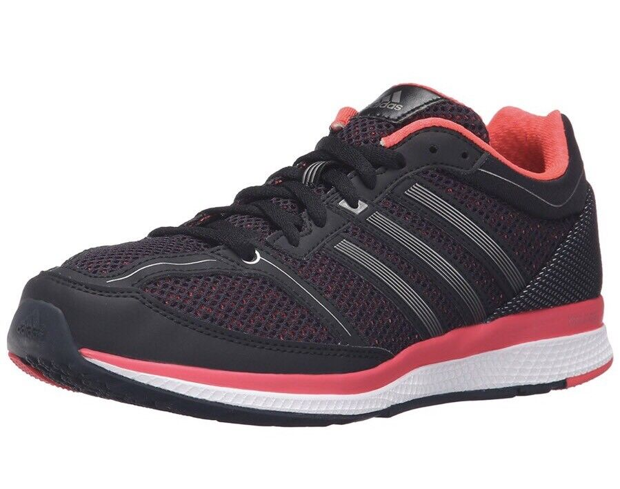 Adidas frauen schuhe turnschuhe mana rc bounce w schwarz / rosa b72973 neue