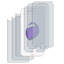 6 x Schutzfolie iPhone 7 Matt (3 x Vorn- + 3 x Hinten) Folie Screen Protector