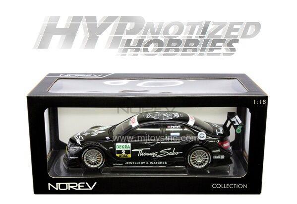 NOREV 1 18 Mercedes-Benz C-CLASS DTM 2011 G Paffett DIE-CAST noir 183584