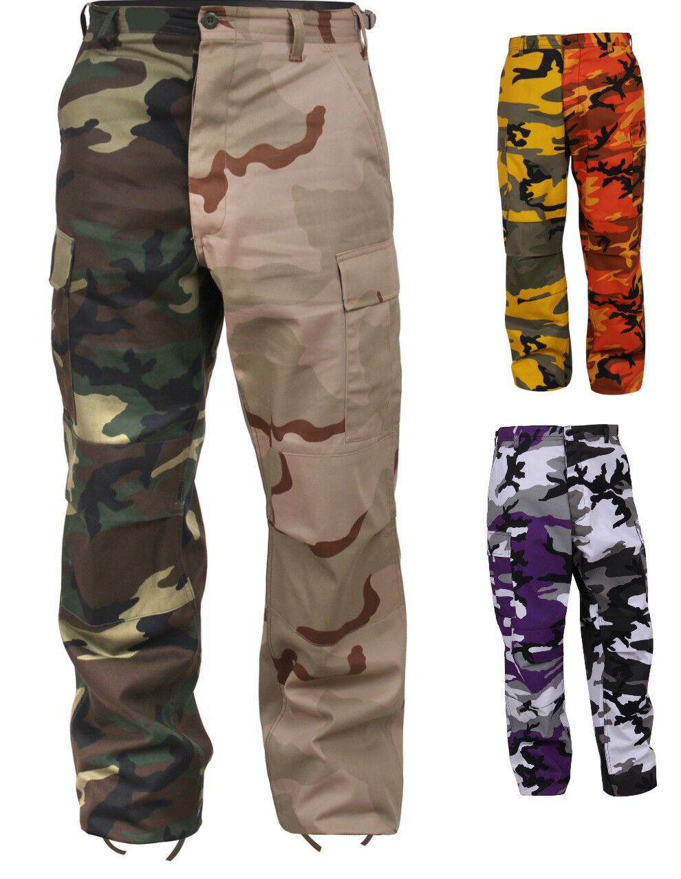 BDU Pants Two-Tone Camo Military Camouflage redhco 1830 1840