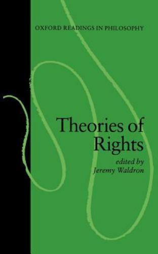 Theories of Rights by Waldron, Jeremy