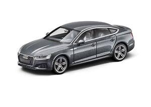 Audi-A5-Sportback-nouveau-modele-Fabricant-Herpa-1-87-Gris-mousson-5011605022