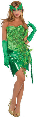 Tossico IVY DONNA HALLOWEEN FANCY DRESS DONNA cattivi LIBRO Adulti Costume Outfit