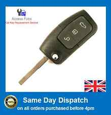 Ford Focus/Mondeo/C S max Flip Key Remote with GENUINE 4D-63 80 Bit Chip