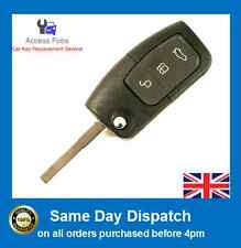 Ford Focus/Mondeo/SMAX/Focus Flip Key Remote with 4D-63 40 Bit Chip 433mhz