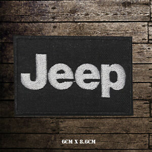 Motor-Sport-Racing-Jeep-Embroidered-Iron-On-Sew-On-Patch-Badge-For-Clothes-etc