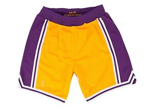 Men's Mitchell & Ness Los Angeles Lakers 1996-97 Throwback Authentic Pro Shorts