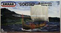 Emhar 1/72 Scale Gokstad 9th Century Viking Ship 9001