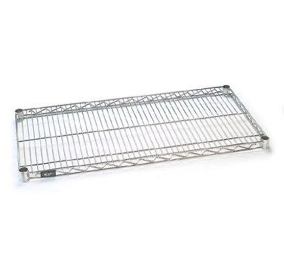 Nexel  Wire Shelf, Chrome Finish, 14 W x 54 L