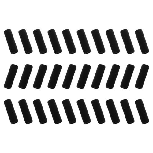 Details about  /Grips Pencil Cover Pack Of 30 Black Color Soft Foam 1.5 Inches Rubber Made Style