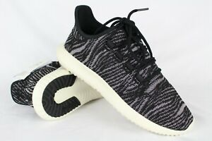 New Adidas Women s Tubular Shadow Size 8 Core Black Aero Pink Off ... ed083b3f6